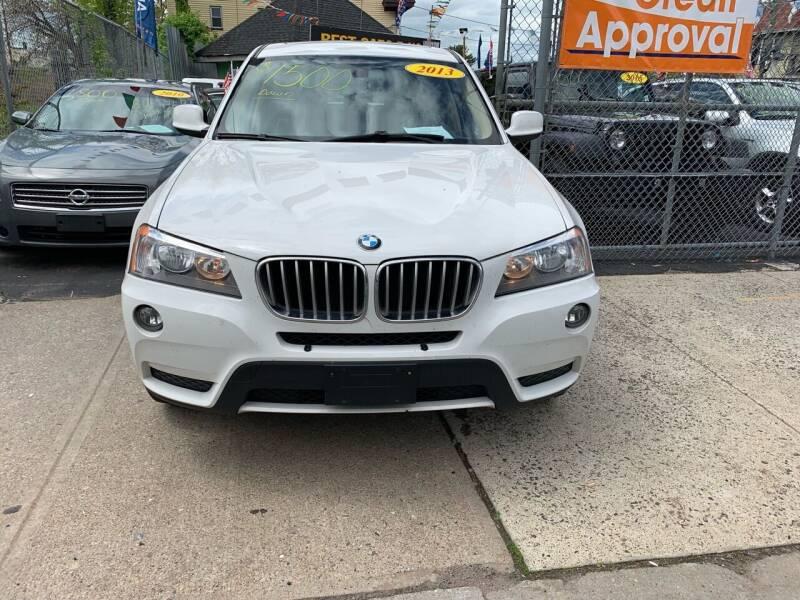 2013 BMW X3 for sale at Best Cars R Us LLC in Irvington NJ