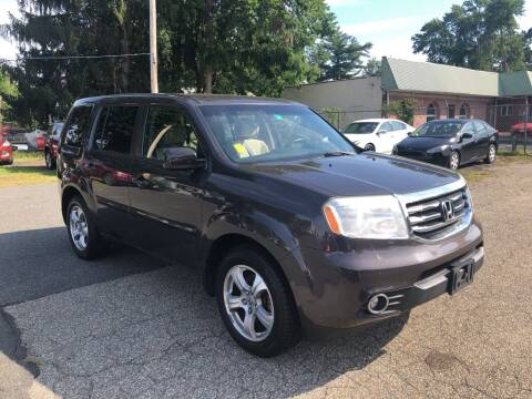 2012 Honda Pilot for sale at Chris Auto Sales in Springfield MA