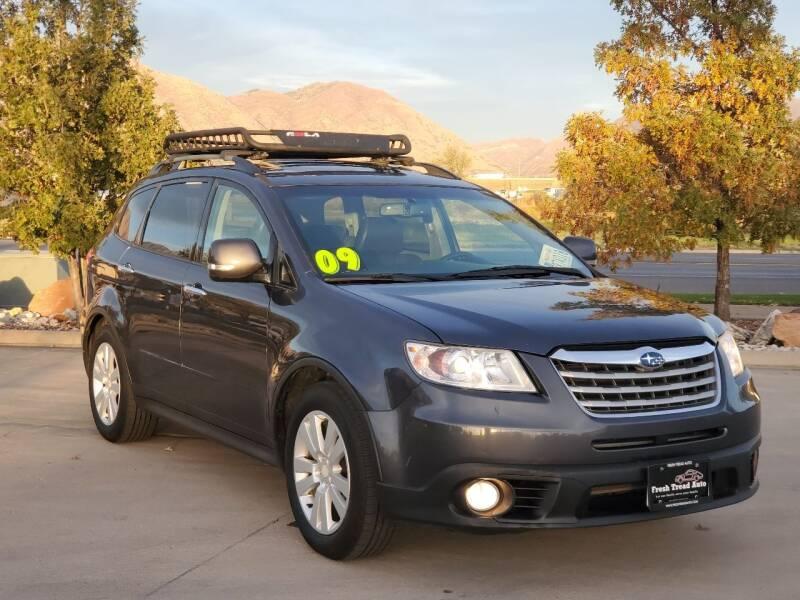 2009 Subaru Tribeca for sale at FRESH TREAD AUTO LLC in Springville UT