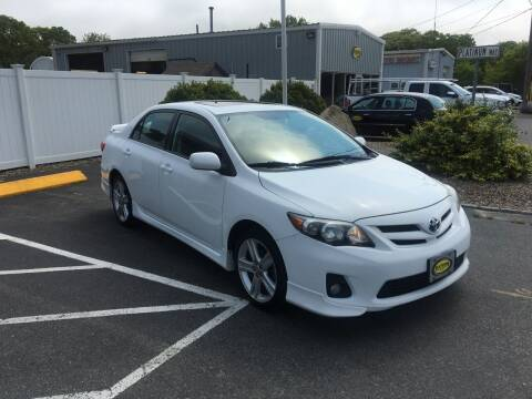 2013 Toyota Corolla for sale at Platinum Auto Sales in South Yarmouth MA
