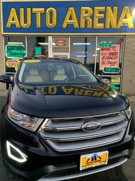 2018 Ford Edge for sale at Auto Arena in Fairfield OH