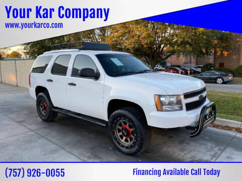 2009 Chevrolet Tahoe for sale at Your Kar Company in Norfolk VA