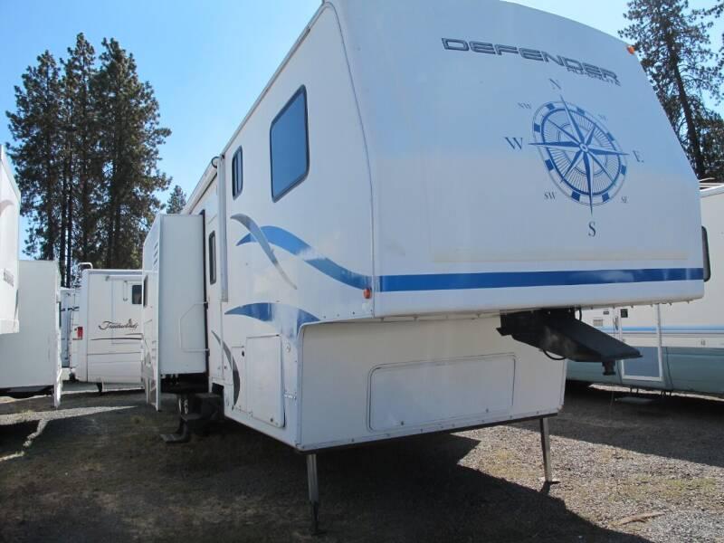 2007 ALPENLITE TOYHAULER DEFENDER 3810 TRIPLE SLILDE for sale at Oregon RV Outlet LLC - 5th Wheels in Grants Pass OR
