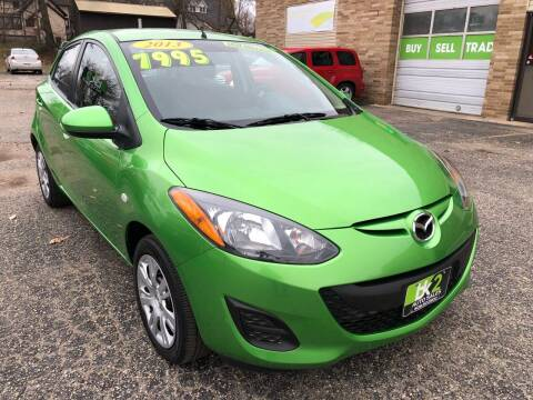 2013 Mazda MAZDA2 for sale at BK2 Auto Sales in Beloit WI