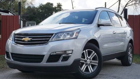 2016 Chevrolet Traverse for sale at Hidalgo Motors Co in Houston TX