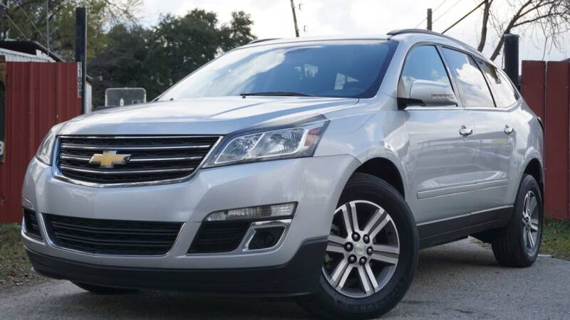 2016 Chevrolet Traverse for sale at Hidalgo Motors Co in Houston TX