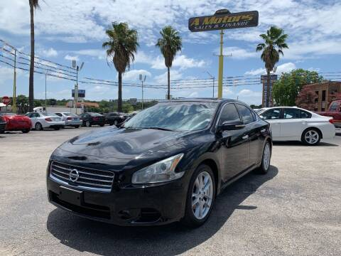 2011 Nissan Maxima for sale at A MOTORS SALES AND FINANCE in San Antonio TX