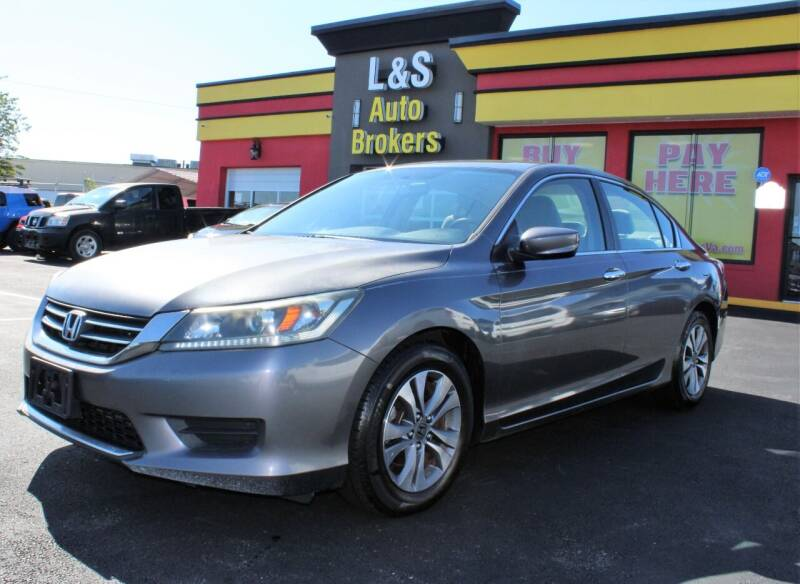 2013 Honda Accord for sale at L & S AUTO BROKERS in Fredericksburg VA