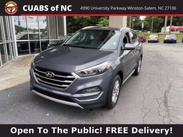 2018 Hyundai Tucson for sale at Credit Union Auto Buying Service in Winston Salem NC