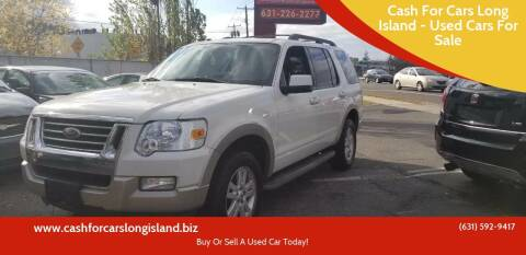 2010 Ford Explorer for sale at Cash For Cars Long Island - Used Cars For Sale in Lindenhurst NY