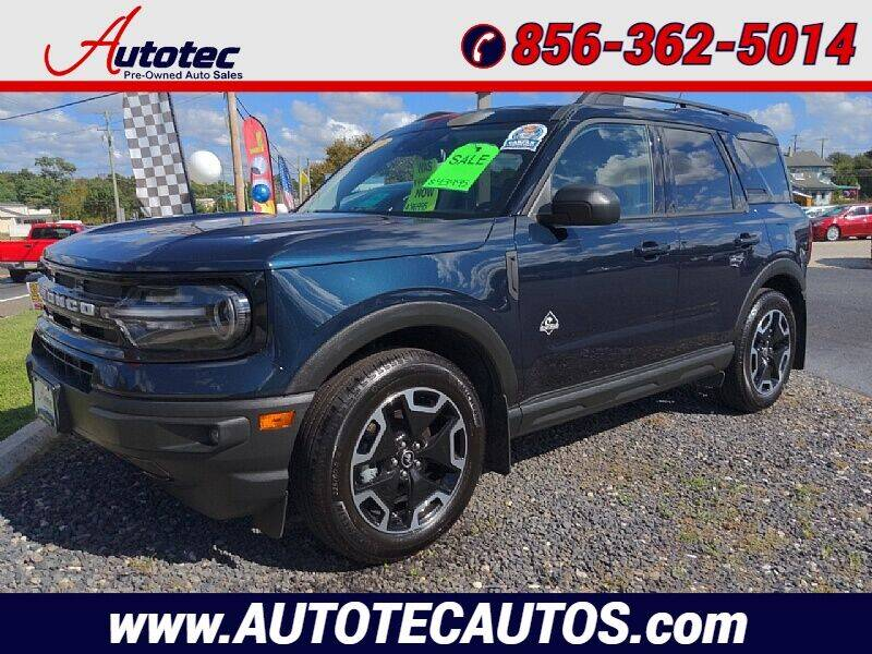2021 Ford Bronco Sport for sale at Autotec Auto Sales in Vineland NJ