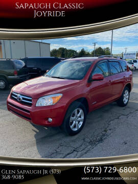 2008 Toyota RAV4 for sale at Sapaugh Classic Joyride in Salem MO