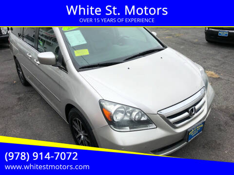2007 Honda Odyssey for sale at White St. Motors in Haverhill MA