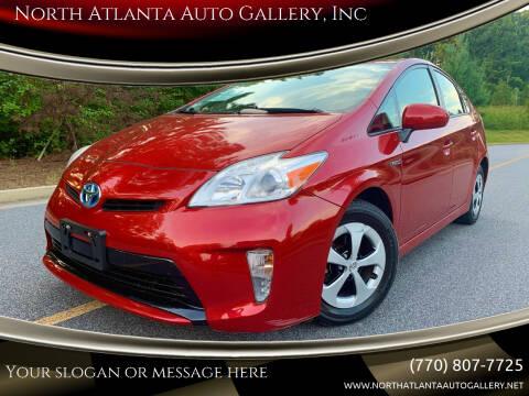 2012 Toyota Prius for sale at North Atlanta Auto Gallery, Inc in Alpharetta GA
