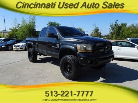 2006 Dodge Ram Pickup 2500 for sale at Cincinnati Used Auto Sales in Cincinnati OH