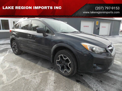 2013 Subaru XV Crosstrek for sale at LAKE REGION IMPORTS INC in Westbrook ME