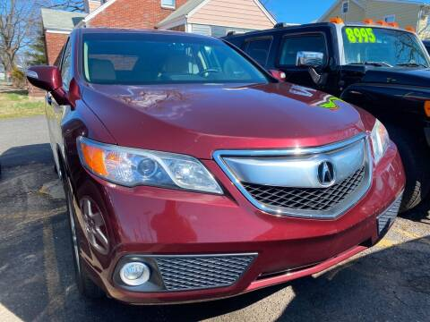 2014 Acura RDX for sale at GRAND USED CARS  INC in Little Ferry NJ