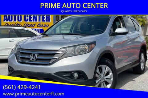 2013 Honda CR-V for sale at PRIME AUTO CENTER in Palm Springs FL