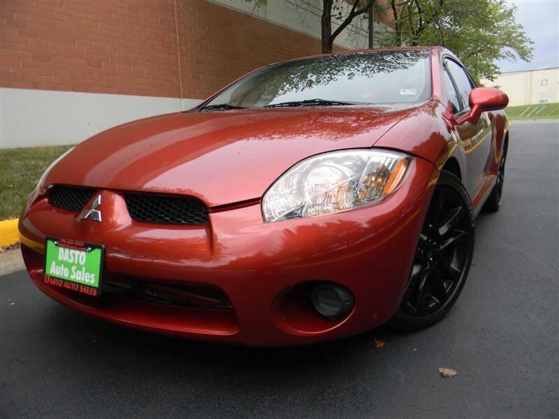 2008 Mitsubishi Eclipse for sale at Dasto Auto Sales in Manassas VA
