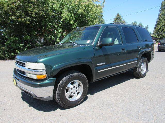 2003 Chevrolet Tahoe for sale at Triple C Auto Brokers in Washougal WA