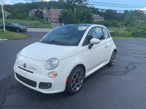 2012 FIAT 500 for sale at Turnpike Automotive in North Andover MA