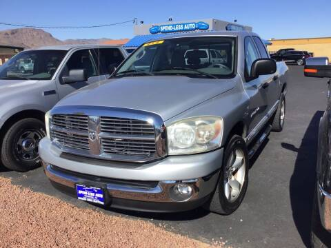 2007 Dodge Ram Pickup 1500 for sale at SPEND-LESS AUTO in Kingman AZ