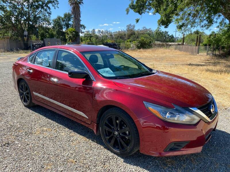 2017 Nissan Altima for sale at Quintero's Auto Sales in Vacaville CA