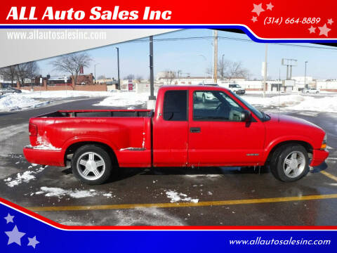 2000 Chevrolet S-10 for sale at ALL Auto Sales Inc in Saint Louis MO