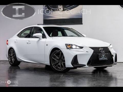 2017 Lexus IS 200t for sale at Iconic Coach in San Diego CA