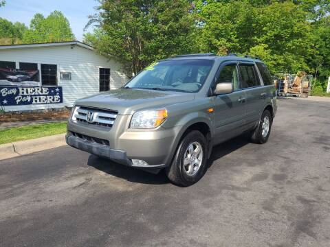 2007 Honda Pilot for sale at TR MOTORS in Gastonia NC