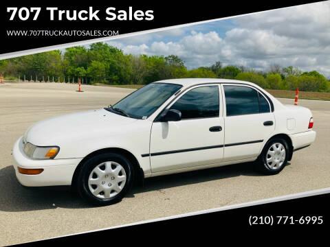 1997 Toyota Corolla for sale at 707 Truck Sales in San Antonio TX