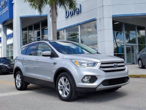 2018 Ford Escape for sale at DORAL HYUNDAI in Doral FL