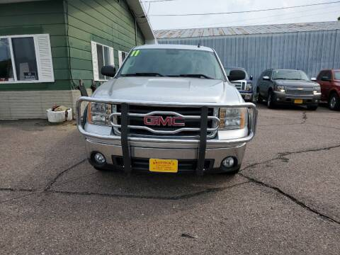 2011 GMC Sierra 1500 for sale at Brothers Used Cars Inc in Sioux City IA
