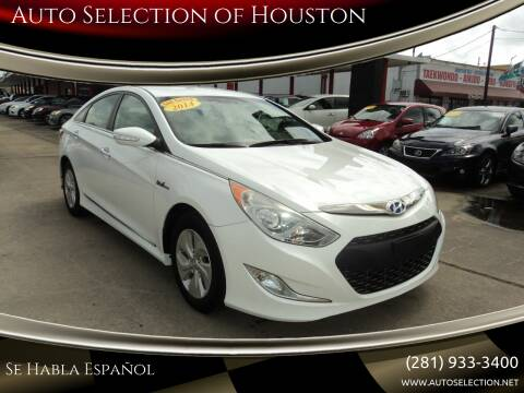 2014 Hyundai Sonata Hybrid for sale at Auto Selection of Houston in Houston TX