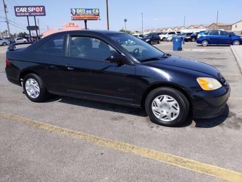 2003 Honda Civic for sale at Car Spot in Las Vegas NV