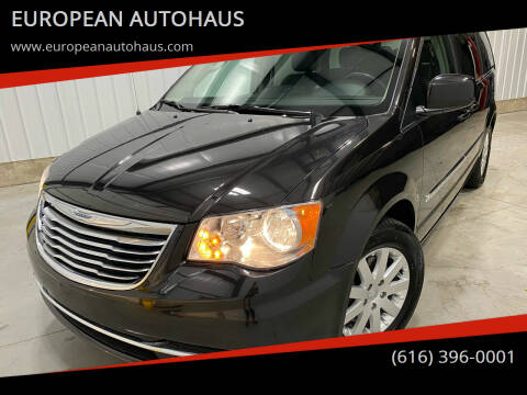 2014 Chrysler Town and Country for sale at EUROPEAN AUTOHAUS in Holland MI