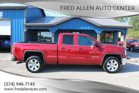 2018 GMC Sierra 1500 for sale at Fred Allen Auto Center in Winamac IN