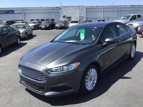 2015 Ford Fusion Hybrid for sale at My Three Sons Auto Sales in Sacramento CA