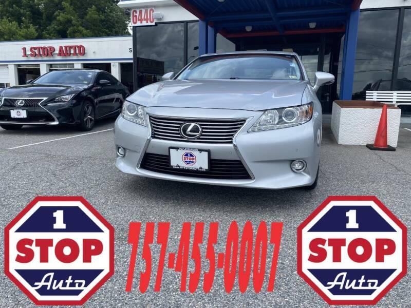 2014 Lexus ES 350 for sale at 1 Stop Auto in Norfolk VA