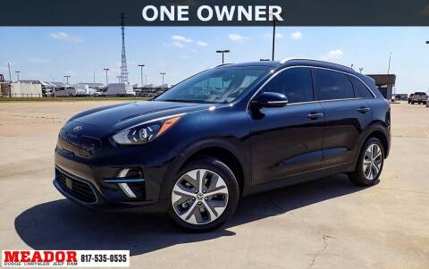 2020 Kia Niro EV for sale at Meador Dodge Chrysler Jeep RAM in Fort Worth TX