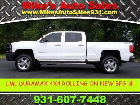 2016 Chevrolet Silverado 2500HD for sale at Mike's Auto Sales in Shelbyville TN