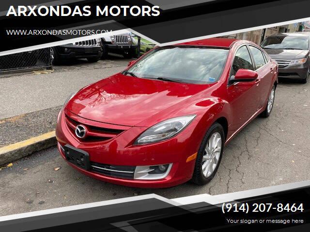 2012 Mazda MAZDA6 for sale at ARXONDAS MOTORS in Yonkers NY