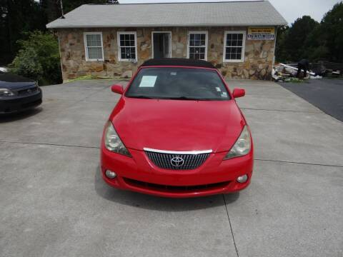 2006 Toyota Camry Solara for sale at Flywheel Auto Sales Inc in Woodstock GA