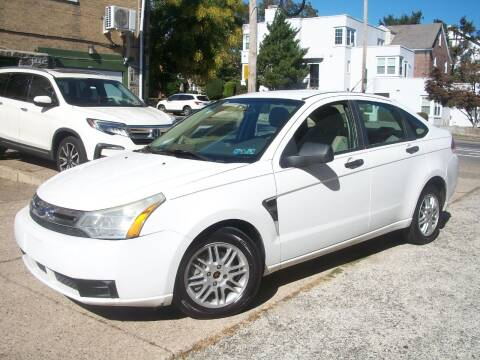 2008 Ford Focus for sale at J Michaels Auto Sales Inc in Philadelphia PA