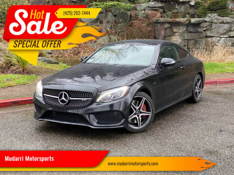 2018 Mercedes-Benz C-Class for sale at Mudarri Motorsports in Kirkland WA