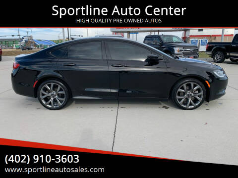 2016 Chrysler 200 for sale at Sportline Auto Center in Columbus NE