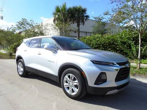 2020 Chevrolet Blazer for sale at SUPER DEAL MOTORS in Hollywood FL