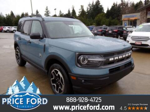 2021 Ford Bronco Sport for sale at Price Ford Lincoln in Port Angeles WA