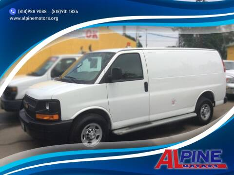 2017 Chevrolet Express Cargo for sale at Alpine Motors in Van Nuys CA