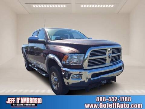 2012 RAM Ram Pickup 2500 for sale at Jeff D'Ambrosio Auto Group in Downingtown PA